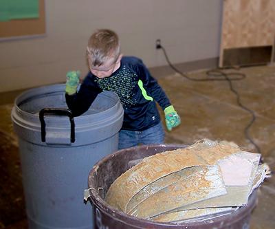 Child working